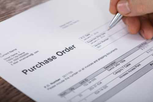 ระบบการจัดซื้อ (Purchasing System)
